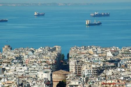 Photo of city of Thessaloniki.