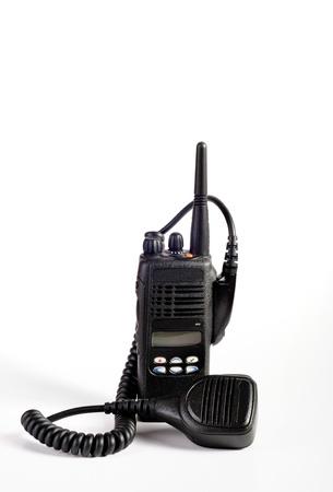cb: photo on a white background  cb radio