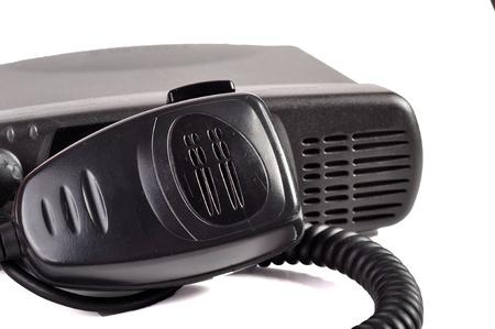 cb: A white background  cb radio