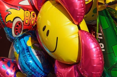 colorful, funny baloons