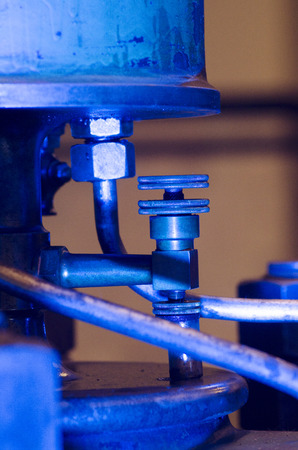antique factory: photo of the historic machines in macro photography, detail,the color of the object obtained by lighting in the shooting phase and not in the post-production