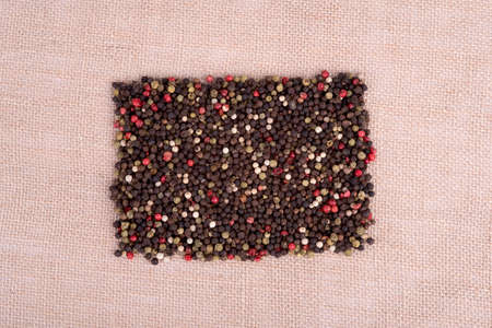 peppercorns: a picture of colorful peppercorns Stock Photo