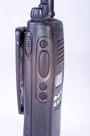 photo on a white background  cb radio