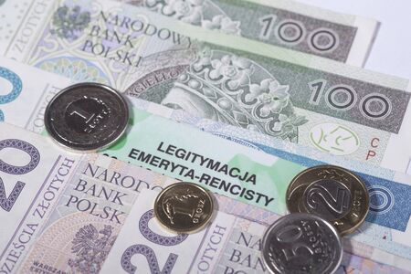 pensioner: Polish pensioner card, Social Insurance ZUS