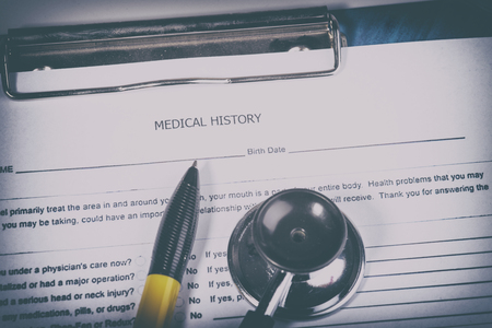 historia clinica: Medical history questionnaire