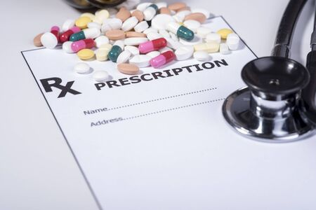 prescription for drugs against diseases