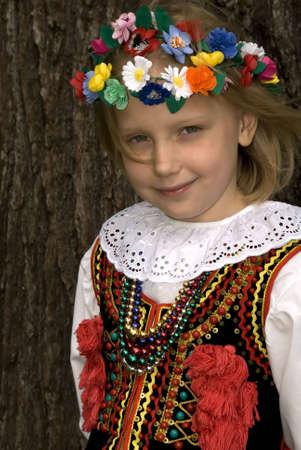 cracow: Cracow girl Stock Photo