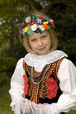 Cracow girl Standard-Bild