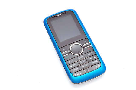 mobile phone   izolated in white background