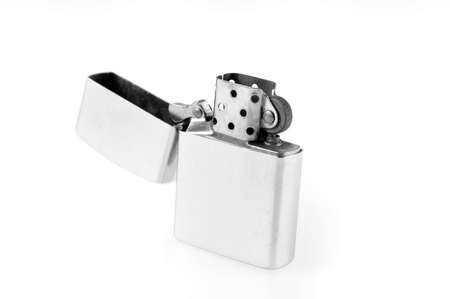 Lighter in white background Stock Photo