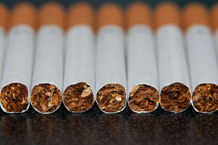 Couple cigarettes  photo
