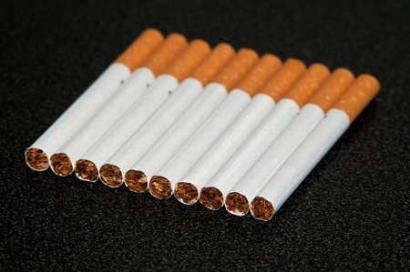 Couple cigarettes