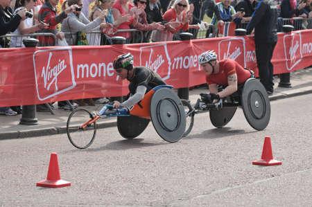 Virgin London Marathon 2011. London, UK. 17042011