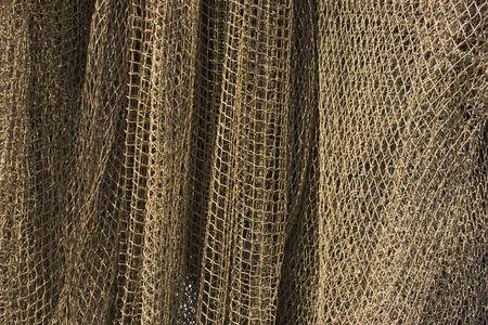 dry fishing net photo