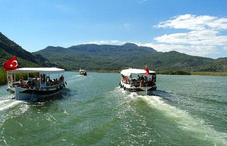 green river: Dalyan green river in Turkye
