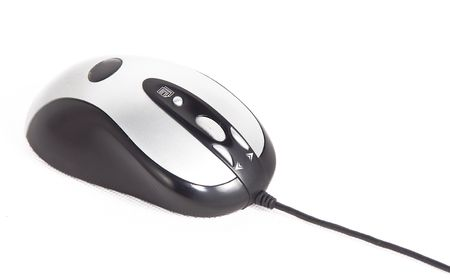 Modern computer mouse isolated on a white background Stock Photo - 2894744