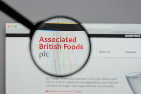 Milan, Italy - August 10, 2017: Associated British Foods