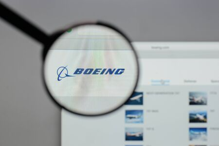 Milan, Italy - August 10, 2017: Boeing