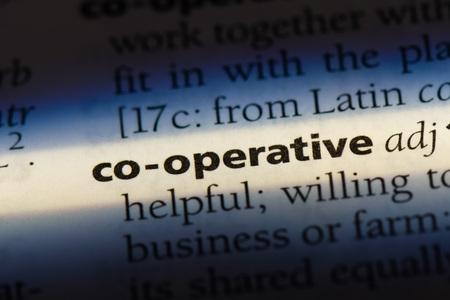 co-operative co-operative concept. Stock Photo