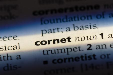 cornet cornet concept.
