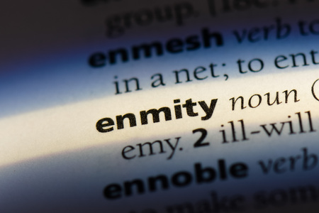 enmity enmity concept.