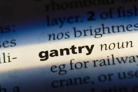 gantry gantry concept.