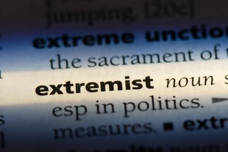 extremist extremist concept. Banco de Imagens - 100079696