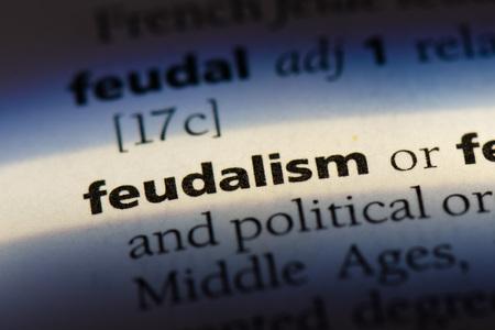 feudalism feudalism concept.