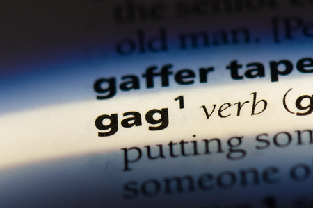 gag dictionary concept.