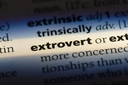 extrovert extrovert concept.