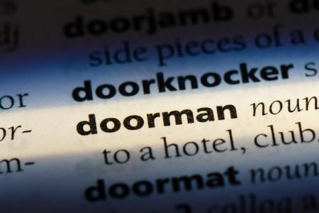 doorman doorman concept.