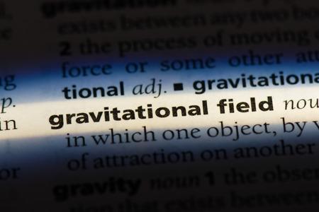 gravitational field gravitational field concept.