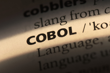 cobol word in a dictionary. cobol concept