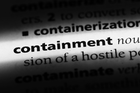 containment word in a dictionary. containment concept