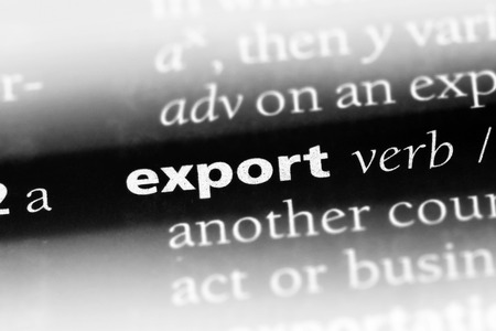 export word in a dictionary. export concept