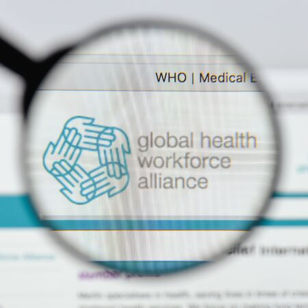 Milan, Italy - August 20, 2018: Medical Relief International Charity (MERLIN) website homepage. Medical Relief International Charity (MERLIN) logo visible. Editorial