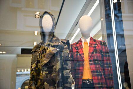 Milan, Italy - September 21, 2018: Michael Kors store in Milan. Montenapoleone area. Fashion week Michael Kors shopping. Sajtókép