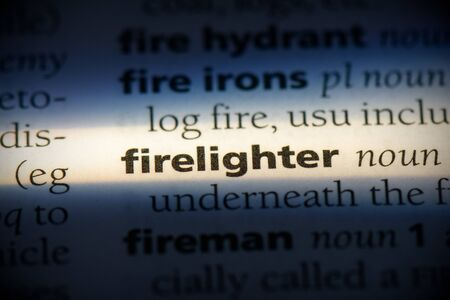 firelighter word in a dictionary. firelighter concept, definition.