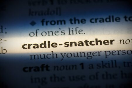 cradle-snatcher word in a dictionary. cradle-snatcher concept, definition.