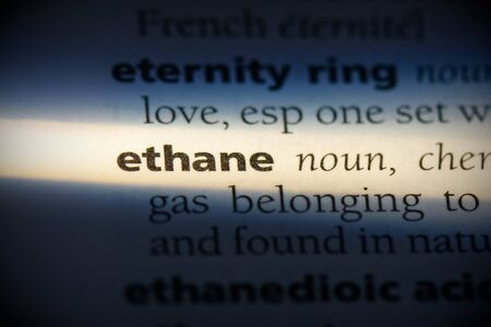 ethane word in a dictionary. ethane concept, definition.