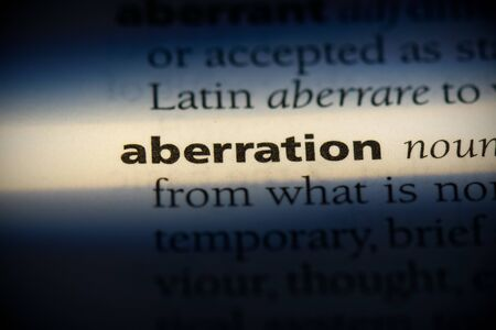 aberration word in a dictionary. aberration concept, definition.