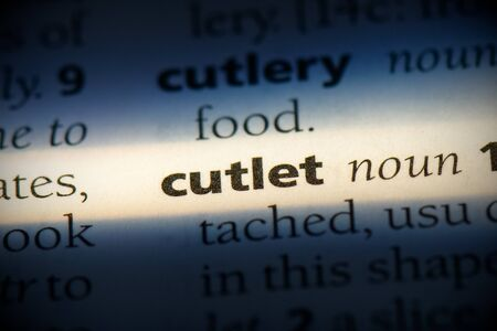 cutlet word in a dictionary. cutlet concept, definition.
