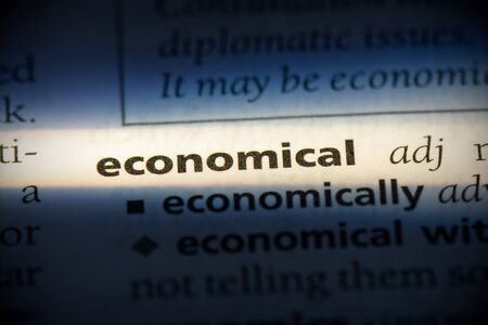 economical word in a dictionary. economical concept, definition.