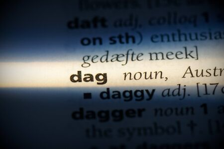 dag word in a dictionary. dag concept, definition.