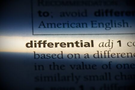 differentiol word in a dictionary. differentiol concept, definition.