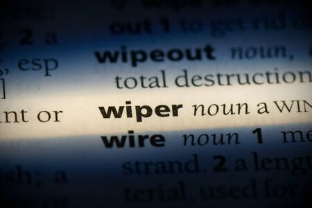 wiper word in a dictionary. wiper concept, definition.