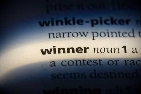 winner word in a dictionary. winner concept, definition.