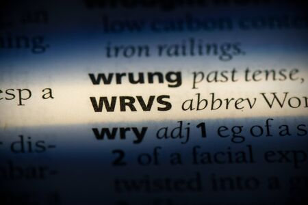 wrvs word in a dictionary. wrvs concept, definition.