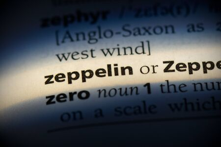 zeppelin word in a dictionary. zeppelin concept, definition.