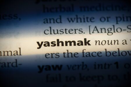 yashmak word in a dictionary. yashmak concept, definition.